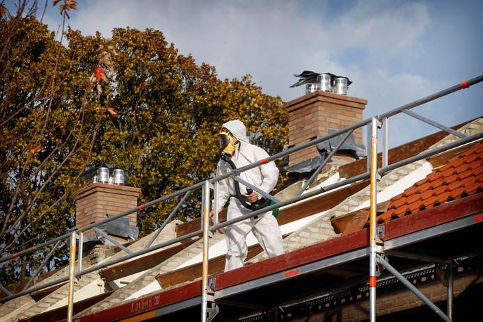 In Brabant moet voor 2024 nog 17 à 18 miljoen vierkante meter asbestdak worden gesaneerd.