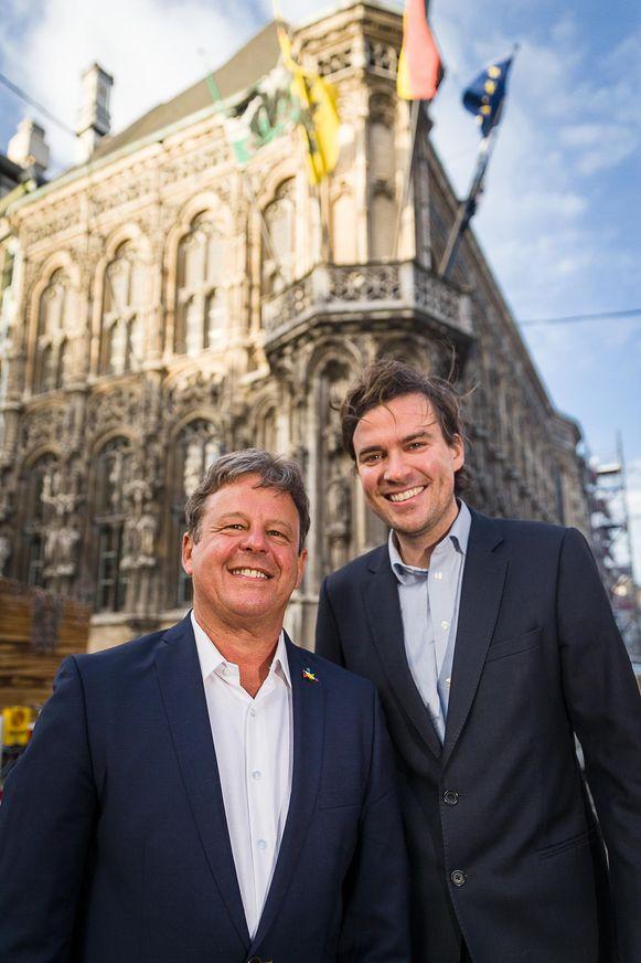 Manuel Mùgica Gonzalez (links) met Mathias De Clercq. De komende maanden zullen ze veel samen te zien zijn in Gent.
