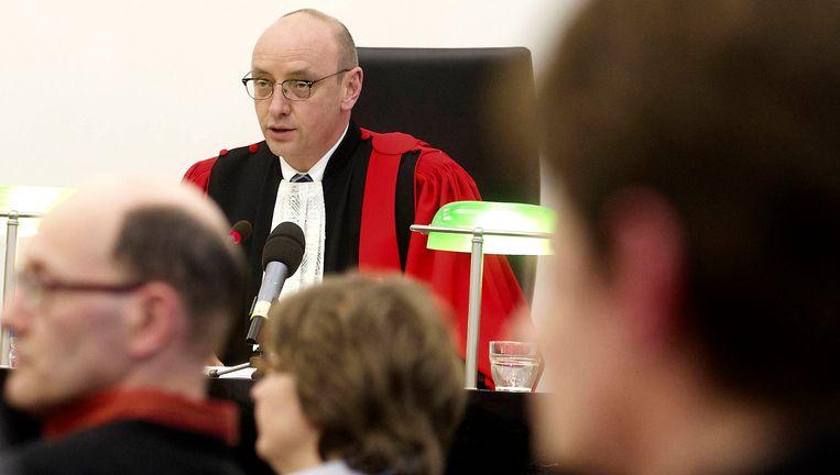 Rechtbankvoorzitter Koen Defoort Beeld REUTERS