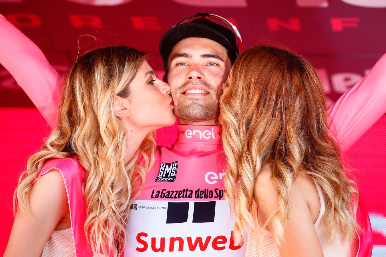 Tom Dumoulin won de Giro d'Italia in 2017.