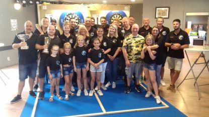 Steve Vanderkluysen wint eerste Dartstornooi van HKV Schief Bezjoebert en neemt wisselbeker mee naar huis