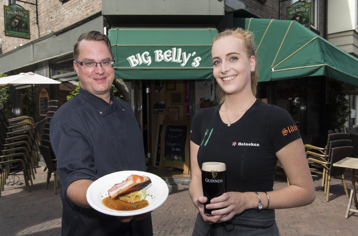 Nicole Berends en Pim Lagcher en Nicole Berends van Big Belly's