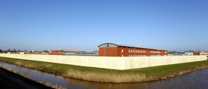 De Zwolse gevangenis op bedrijventerrein Marslanden. Foto archief Tom van Dijke