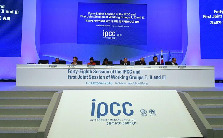 De temperatuur stijgt tussen 2030 en 2052 1,5 graden Celsius als er niets wordt gedaan aan de CO2-uitstoot.