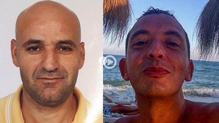 Links Said Razzouki en Ridouan Taghi rechts Beeld Opsporing Verzocht