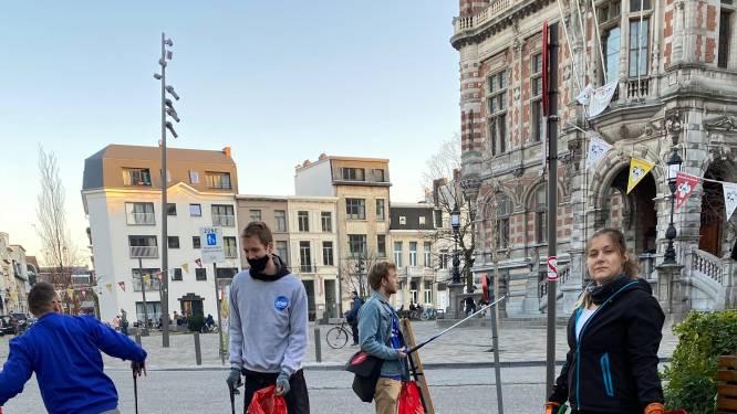 """Jong VLD wil alle zwerfvuil in de zak: """"Beloon straatvrijwilligers met premie of cultuurcheque"""""""