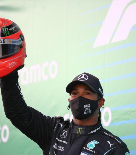 Hamilton: Ik begrijp nu hoe ongelofelijk knap die prestatie van Michael is