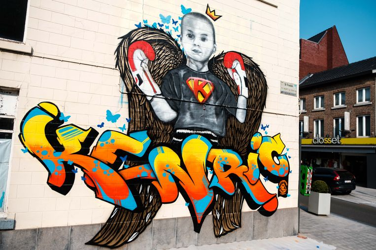 Graffiti-muurschildering voor Kenric