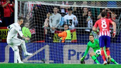 LIVE. Sergio Ramos verzilvert penalty voor Real (2-1) na goals van Benzema en Diego Costa voor de rust in Europese Supercup