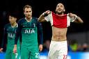 Ajax gaat in de laatste minuut van de blessuretijd onderuit.