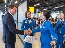KLM verwacht weinig overlast door acties cabinepersoneel