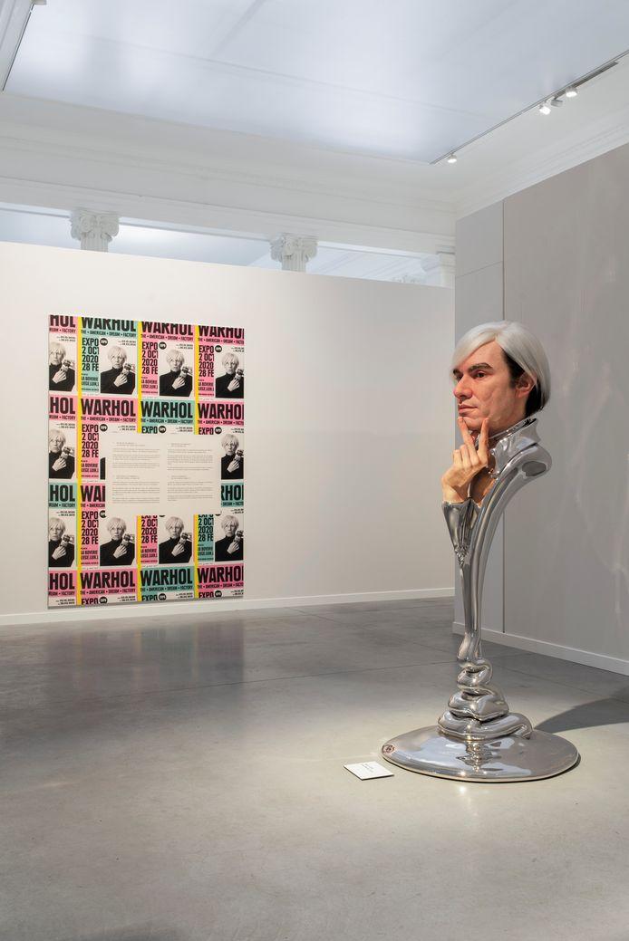 Andy Warhol selon l'artiste japonais.