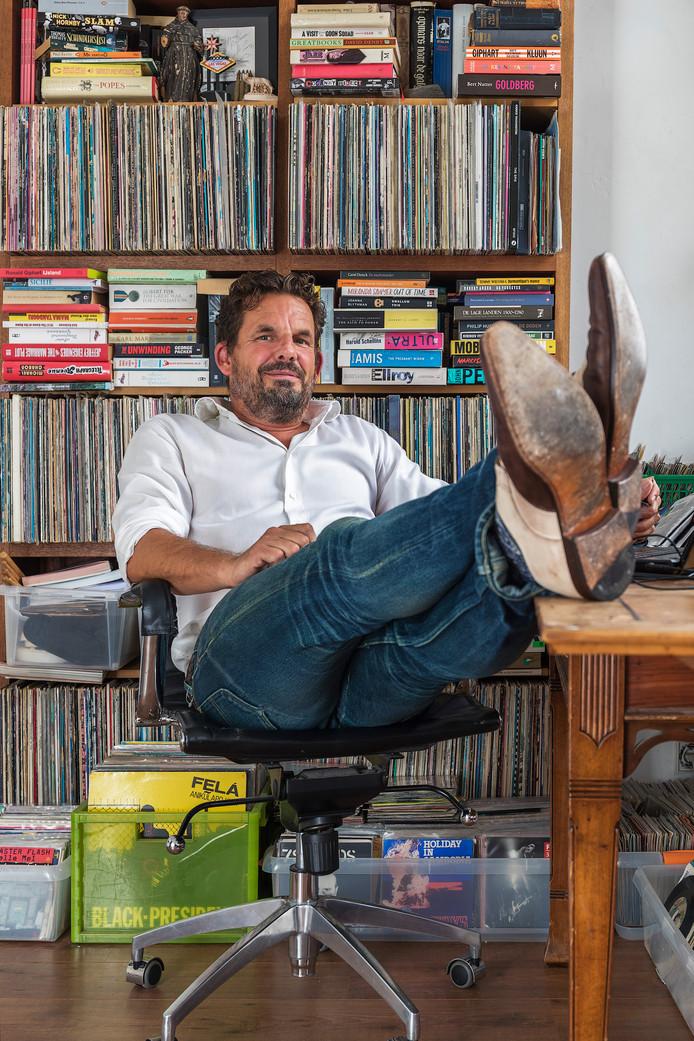 Journalist, columnist en schrijver Jerry Goossens.