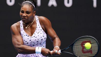 Federer, Osaka en Serena Williams vlot door, Venus al uitgeschakeld