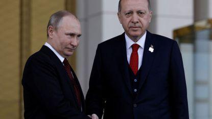 Poetin op bezoek in Turkije voor onder meer top over Syrië