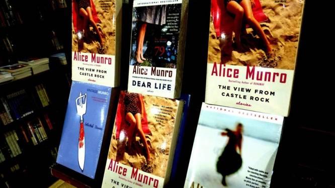 Uitgeverij Alice Munro drukte al 300.000 boeken bij