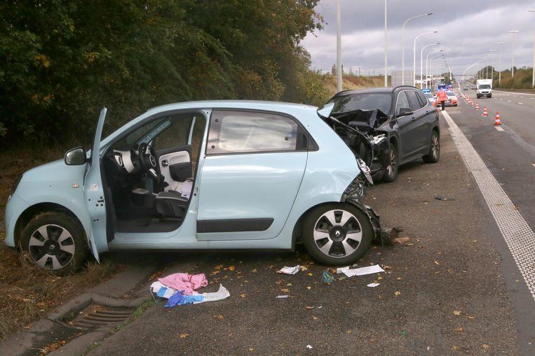 De bestuurder van de BMW kon de aanrijding met de Clio niet vermijden.