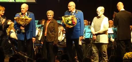 Muziekvereniging Emos uit Daarle huldigt jubilarissen