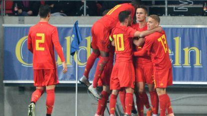 Opdracht met verve volbracht: Dimata loodst Belgische beloften met twee goals naar EK 2019 in Italië en San Marino