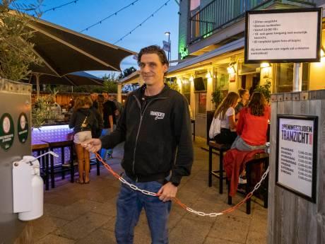 Had één dag sluiting van Café Tramzicht effect? 'Mensen gingen zich beter aan de regels houden'