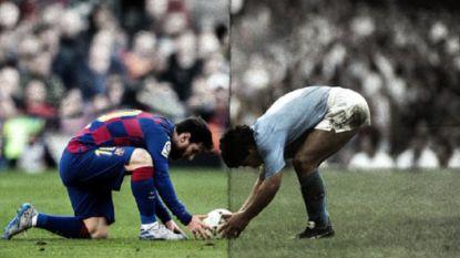 Het heden ontmoet het verleden: Messi speelt vanavond in de achtertuin van Maradona