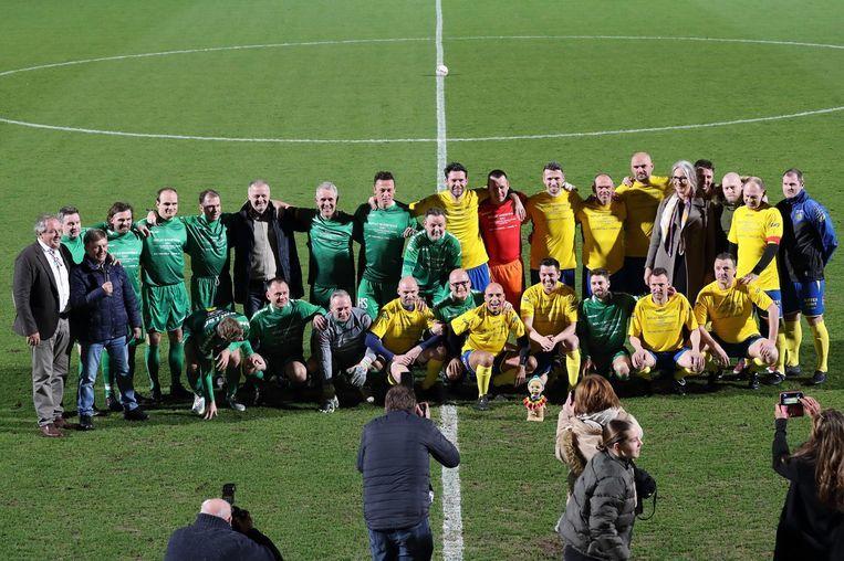 Vorig jaar wonnen de oud-spelers van Westerlo met 6-4 tegen die van Lommel.