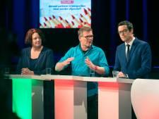 Debat: lijsttrekkers prikken en duwen, alleen PVV gaat er met gestrekt been in