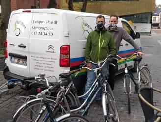 Stad Hasselt schenkt 30 afgeschreven fietsen aan Fietspunt