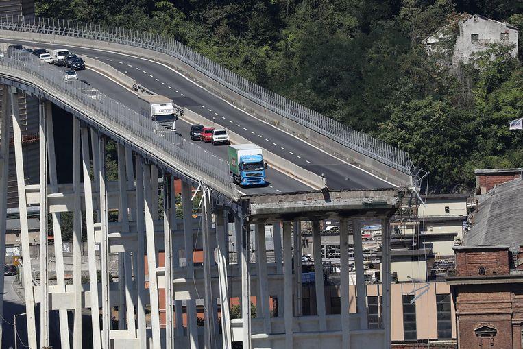 Hoe kon de Ponte Morandi in het Italiaanse Genua instorten? | De Volkskrant