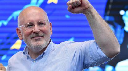 """Theo Francken noemt kandidaat-Commissievoorzitter Timmermans """"nachtmerrie"""", Geert Bourgeois vindt hem """"een goede kandidaat"""""""