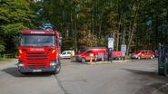 Batterij in laboratorium Laborelec lekt: brandweer heeft uren werk
