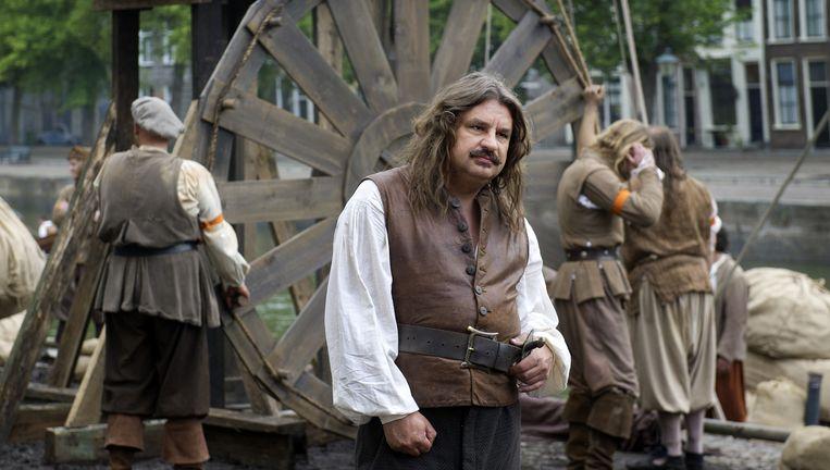 Frank Lammers als Michiel de Ruyter. Beeld ANP Kippa