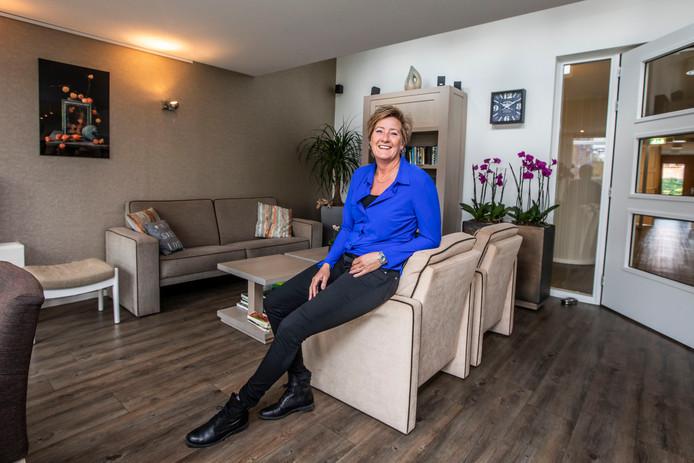 Kleinschaligheid en intieme zorg kenmerken hospice Beukenrode in Naaldwijk, stelt coördinator Winnie Pesch.