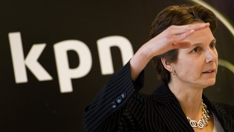 Financieel directeur Carla Smits stapte begin 2012 op uit onvrede met de nieuwe topstructuur. Beeld anp