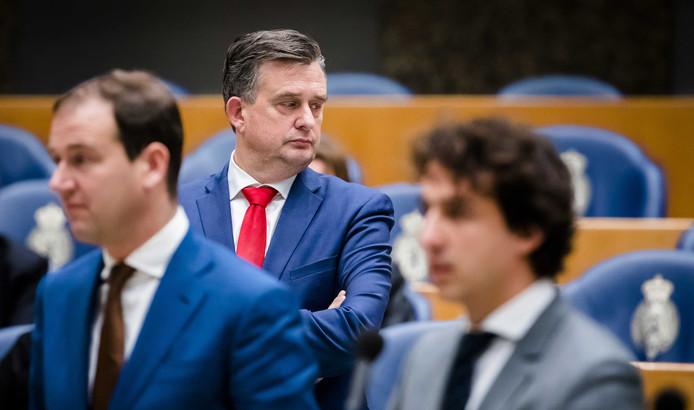 (VLNR) Lodewijk Asscher (PVDA), Emile Roemer (SP) en Jesse Klaver (Groenlinks)