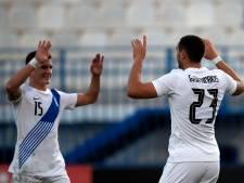 VVV-spits Giakoumakis wint met goal bij Grieks debuut de eerste slag van Pavlidis