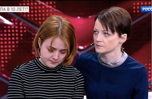 Darya met haar moeder Elena.