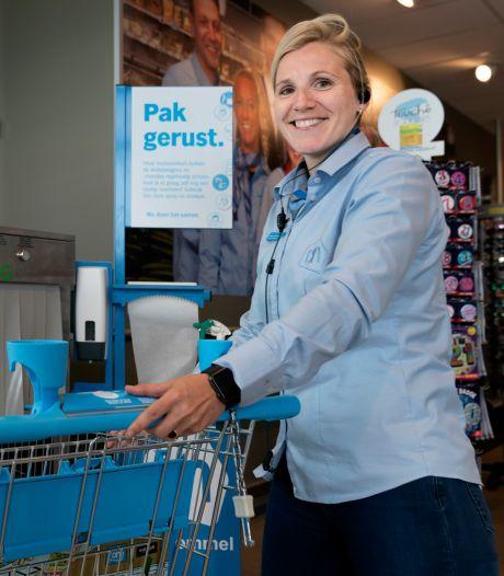 Albert Heijn Zaltbommel test opnieuw ontsmetters voor winkelwagens