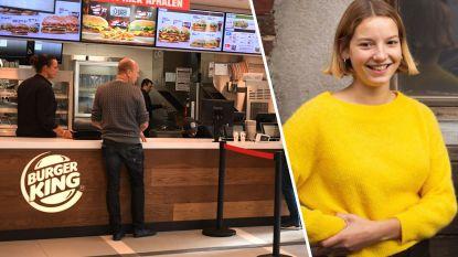 """Vegetarische Whoopi (19) wint jaar gratis wonen boven Burger King Leuven, maar kan er niets mee doen: """"Ik zit op kot in Gent en woon in Antwerpen"""""""