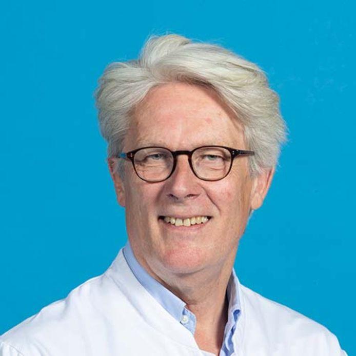 Hoofdhalschirurg Rob Baatenburg de Jong.