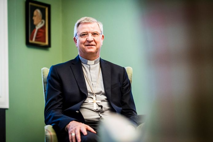 mgr. Johan Bonny, bisschop van Antwerpen