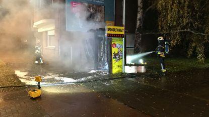 Broodautomaten in Wommelgem uitgebrand