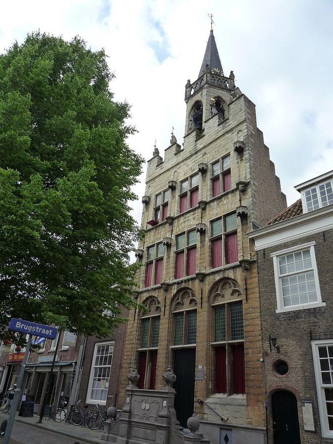 Het Oude Stadhuis in Tholen