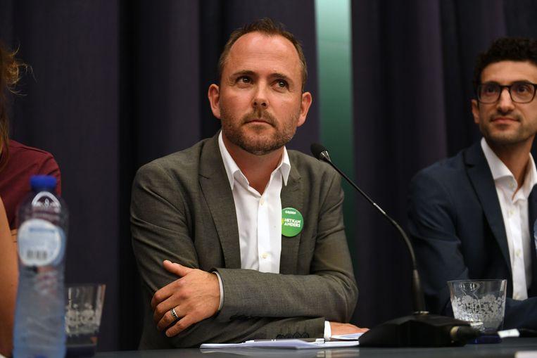 Schepen David Dessers (Groen) wil burgers sterk betrekken bij de transitie naar een klimaatneutrale stad.