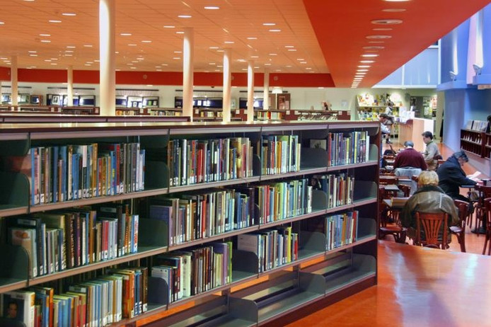 Bibliotheek De Mariënburg in Nijmegen.
