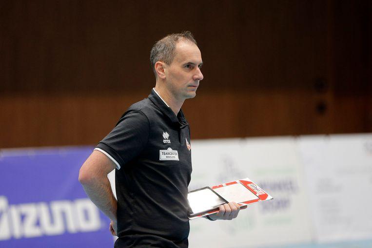 Trainer-coach Kris Vansnick.