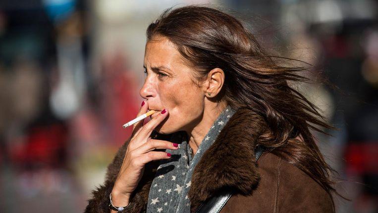 KWF: '30 procent van alle sterfte door kanker wordt veroorzaakt door roken.' Beeld afp