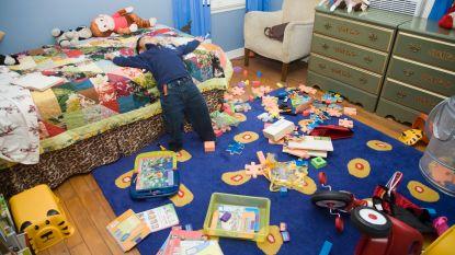 Kind ruimt kamer op en smijt alles uit het venster: 4.500 euro schade