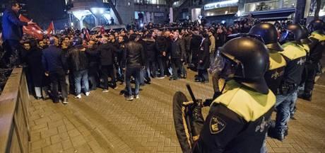 Politie waarschuwt: beelden Turkse relschoppers donderdag openbaar