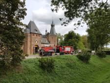 Kasteel Doorwerth tijdelijk ontruimd na brandje